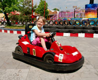 Bumper Car Royalty Free Stock Images