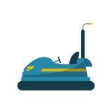 bumper car design. Bumper car icon. Fair carnival party and event theme.  design. Vector illustration Stock Photo