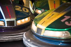 Bumper cars (AB) Stock Photos