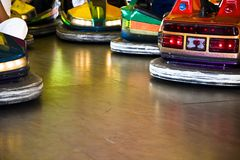 Bumper cars (AB) Stock Photo