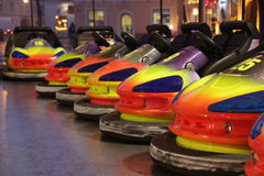 Bumper cars Stock Photos