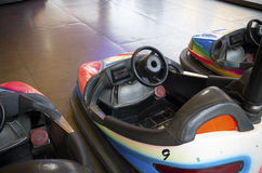 Bumper cars Royalty Free Stock Photos