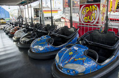 Bumper cars Royalty Free Stock Image