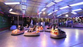 Bumper cars for kids Stock Image