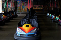 Bumper cars stock images
