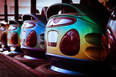 Bumper cars Royalty Free Stock Images