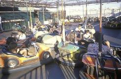 Bumper Cars, Santa Monica Pier, Santa Monica, California Royalty Free Stock Image