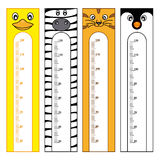 Bumper children meter. Wall. Animals Stickers Royalty Free Stock Photography
