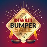 Bumper diwali sale offer and discount presentation template Stock Photo