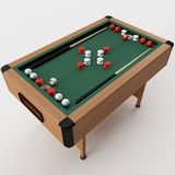 Bumper Pool Table Stock Photography