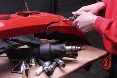 Bumper Repair warm. Royalty Free Stock Images