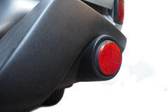 Bumper set with break light red color on truck Stock Photo