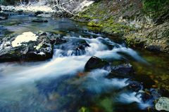 Bumping creek Royalty Free Stock Images