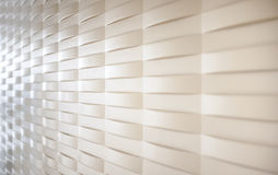 Bumping wall. Bumping cream wall able to use as background Royalty Free Stock Photo