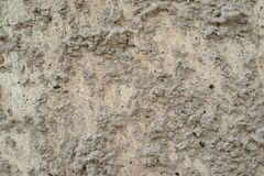 Bumpy texture of natural color cement surface Stock Photos