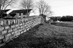 Bumpy Wall - Glenrothes Landmarks Royalty Free Stock Photo