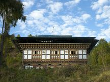Bumthang country-house Stock Images