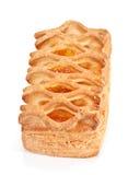 Bun with apricot jam Stock Photos
