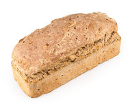 Bun of bread isolated Royalty Free Stock Photo