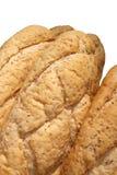 Bun bread isolated on white Stock Photo