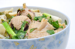Bun Mang Vit or Vietnamese Rice Vermicelli Royalty Free Stock Photography