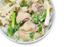 Bun Mang Vit or Vietnamese Rice Vermicelli Royalty Free Stock Image