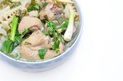 Bun Mang Vit or Vietnamese Rice Vermicelli Royalty Free Stock Photo