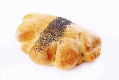 Bun with poppy seed Royalty Free Stock Photos