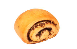 Bun with poppyseed Stock Photography