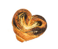 Bun with poppyseed Royalty Free Stock Image