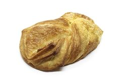 Puff pastry roll Royalty Free Stock Photography
