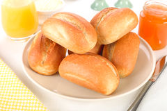 Bun rolls Royalty Free Stock Photography