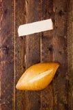 Bun from white flour Stock Photo