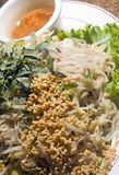 Bun xao vietnamese food royalty free stock image