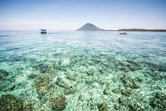 Bunaken ö, Sulawesi, Indonesien Royaltyfria Bilder