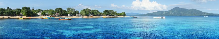 Bunaken island Royalty Free Stock Photography