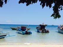 Bunaken plaża Fotografia Stock