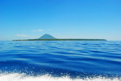 Bunakens from the Boat. This photo i take on trip to Siladens Island and i took this on boat, very enjoyable trip Stock Images