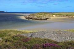 Bunbeg strand arkivbild