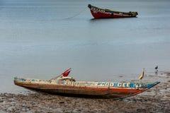 Bunce wyspa, Sierra Leone, afryka zachodnia - Brytyjski niewolniczy handel Obraz Royalty Free