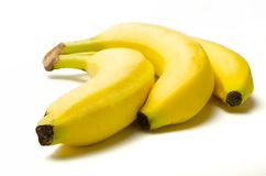 A bunch of 3 Bananas Stock Images