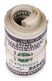 Roll of 100 US$ Bills Royalty Free Stock Image