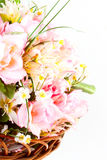 Bunch of artificial flowers Royalty Free Stock Photography