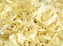 Bunch of artificial roses Royalty Free Stock Photos