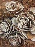 A bunch of artificial roses Stock Photography