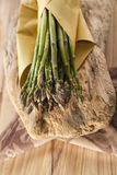 Bunch of asparagus Stock Images