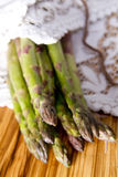 Bunch of asparagus Royalty Free Stock Photography
