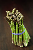 Bunch of asparagus Royalty Free Stock Photos