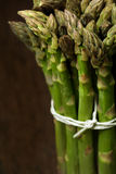 Bunch of asparagus closeup Stock Images
