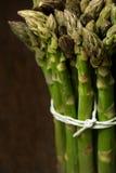 Bunch of asparagus closeup Stock Images